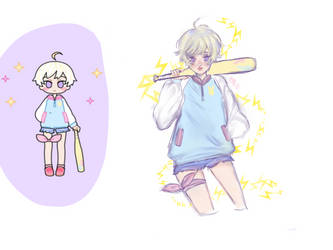 #PastelGirlChallenge  by Shiratama1419