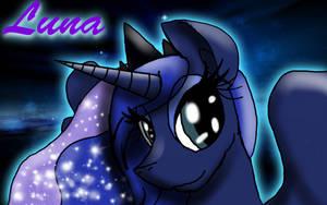 Princess Luna by RyuokoWolf