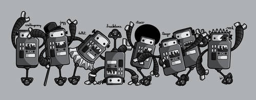 Robot Dance by recycledwax