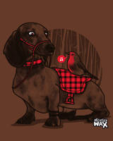 Dachshunter by recycledwax