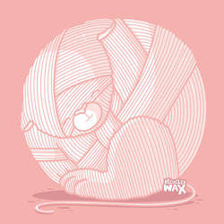 Ball of yarn by recycledwax