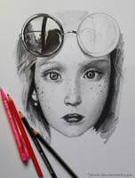 Pencil sketch by Tpiola