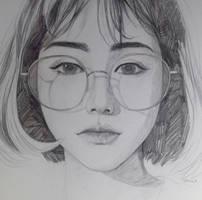 Portrait study by Tpiola