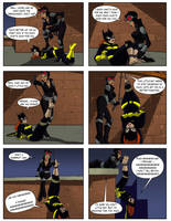 Catwoman tickles Batgirl by Dr-Willard