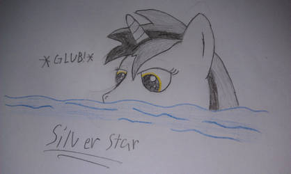Swimming Silver Star by kapo87
