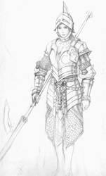 female armour by Pandarice
