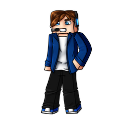 Minecraft Avatar - JacksGamesYT by GoldSolace