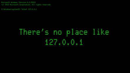 There's no place like 127.0.0.1 by jokkaboler