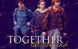 Harry Potter trio wallpaper by darkwizardcatcher09