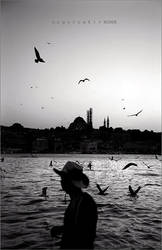 melancholy in Istanbul by oscarsnapshotter