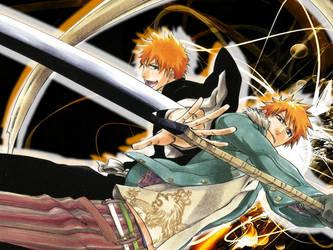 Two sides of Ichigo by crazyotaku7