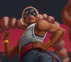 Twintelle Up Close by tippedchair