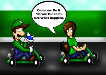 Throw the Shell by HamSamwich