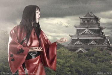 Latex Kimono by RichardKnightly