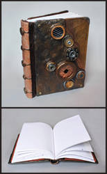 Copper Steampunk Journal by MadeleiZoo