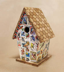 Airmail: Birdhouse No. 1 by MadeleiZoo