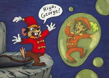 Hiya, George Harrison! by MadeleiZoo