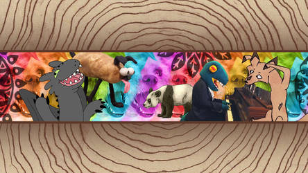 MadeleiZoo Channel Art by MadeleiZoo