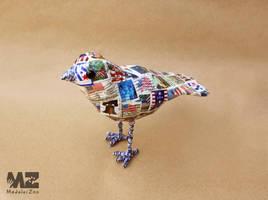 Airmail: Freedom Bird by MadeleiZoo