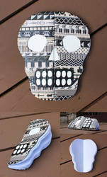 Washi Skull Journal by MadeleiZoo