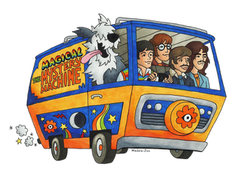 Magical Mystery Machine by MadeleiZoo