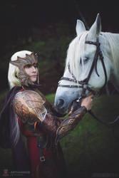 Fantasy original Elf cosplay by my99reality
