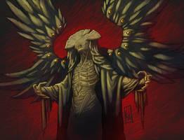 Angel of Death - Color by EderLunaC