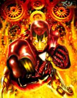 Iron Man by IgnisSerpentus