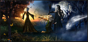 Darkness Falls by IgnisSerpentus