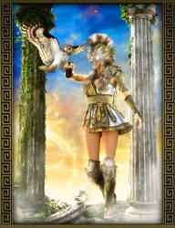 Goddess Of Wisdom by IgnisSerpentus