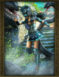 Medusa's Lair by IgnisSerpentus