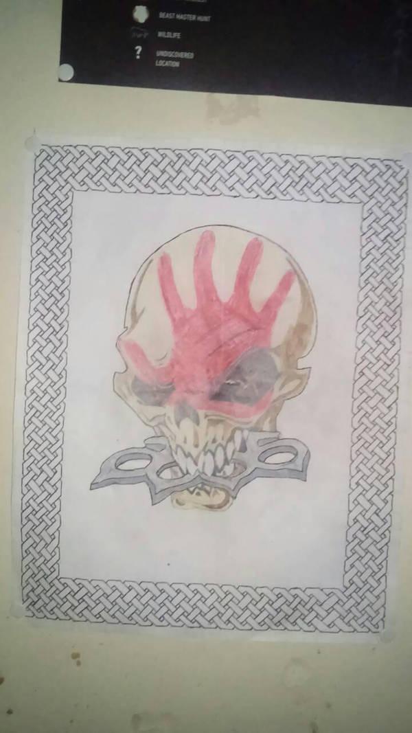 Five Finger Death Punch Fanart By Angelofdeath225 On Deviantart