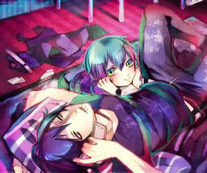 Brothers 8D by akirakirai