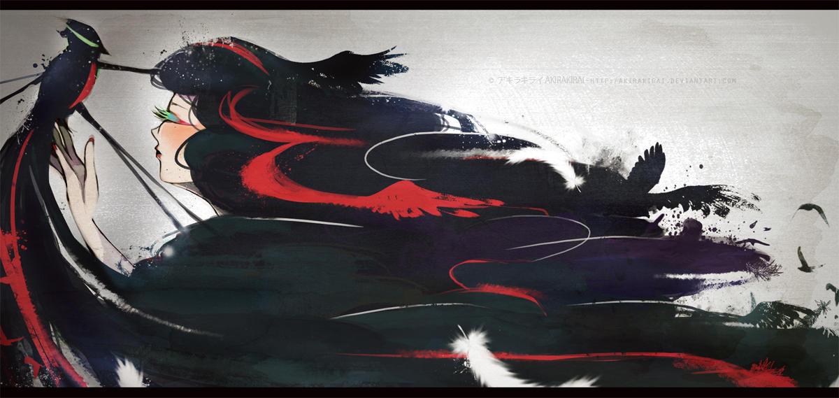 + INKBLOT + by akirakirai