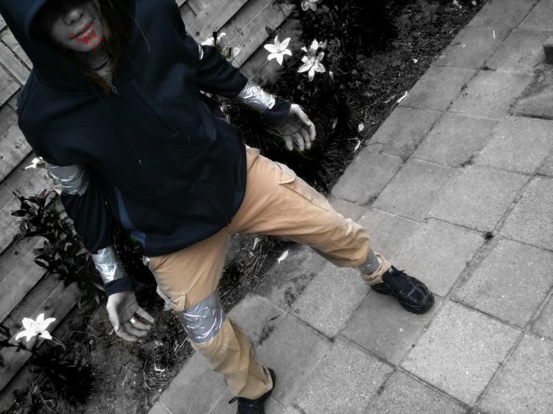 best hunter cosplay EVER by orgxiiifreak