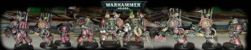 ChaosTerminator + marine by orgxiiifreak