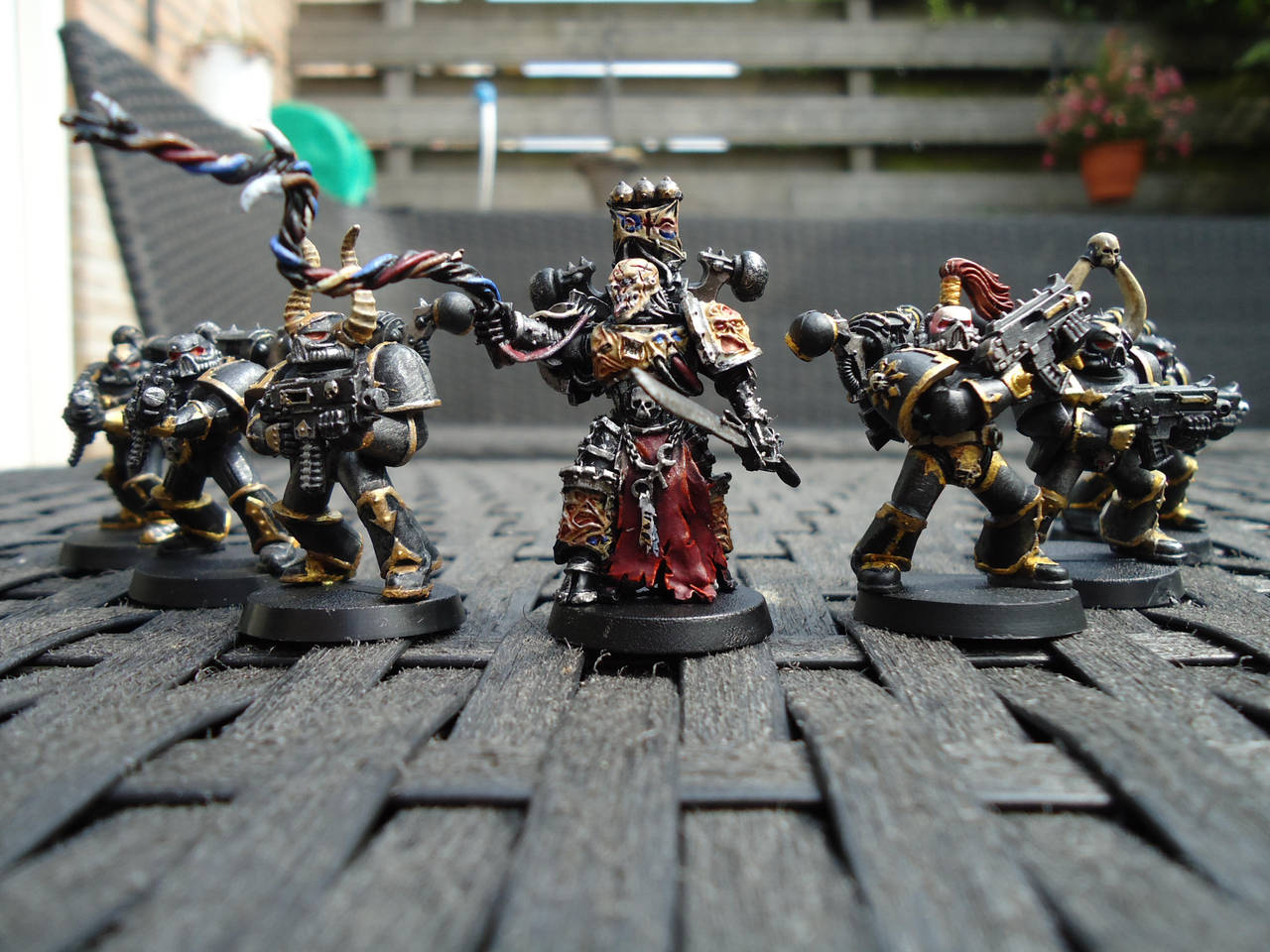We are Chaos marines, by orgxiiifreak