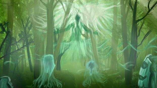When the spirits are awake... by orgxiiifreak