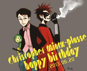 happy birth day! by spidergarden666