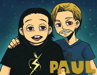 PAUL by spidergarden666