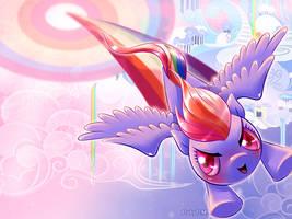Sonic Rainboom by RubyPM