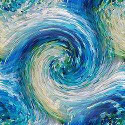 Wave to Van Gogh by DavidLeeManlove