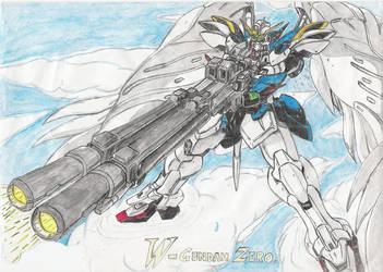 XXXG-00W0 Wing Zero Custom by Fearless87