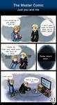 The Master Comic - (Just you and me) - Doctor Who by TardisGhost