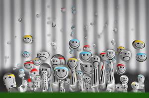 Droplet Meeting by Dvemor