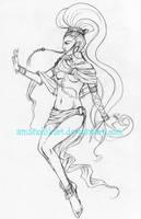 Unofficial FFMD Shiva design by AmanoHikari