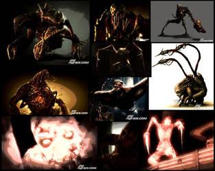Necromorphs Wallpaper by Alpolo007