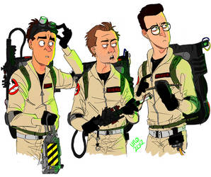 Ghostbusters by Uno-Duo