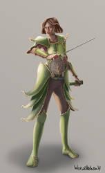Warrior by WerWoelkchen