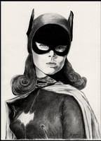 Batgirl - Yvonne Craig 'Verge' by foxartsbrazil